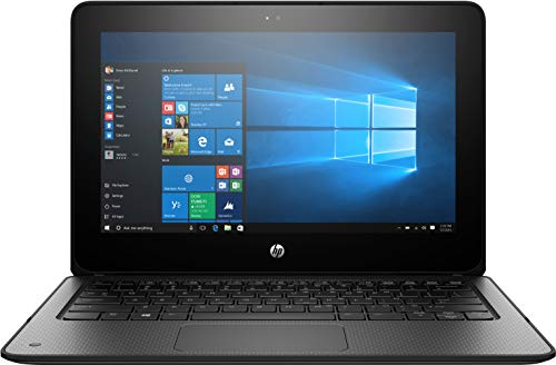 "HP ProBook x360 G1 EE 11.6"" Touchscreen LED HD 2-in-1 Laptop, Intel Celeron N3350 Dual-Core 1.1GHz, 4GB DDR3, 64GB SSD eMMC, Type-C, HDMI, RJ-45, WiFi AC, Bluetooth 4.2, Windows 10 Pro"