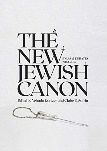 The New Jewish Canon (Emunot: Jewish Philosophy and Kabbalah)
