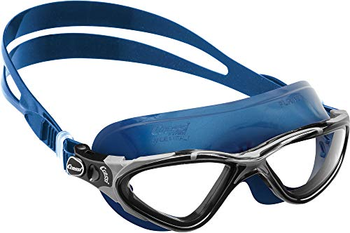 Cressi Planet Occhialini Premium per Nuoto, Piscina, Triathlon e Sport Acquatici, Blu Neri/Nero