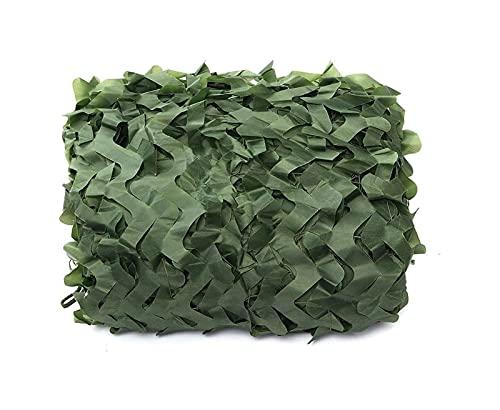 malla sombreadora Camo Netting Camuflage Net, Sun Shade Toldos de malla Aislamiento Tienda de toldos, Camo Tarp Protector solar Oxford Reforzado Neto, Cobertura de verificación de montaña al aire libr