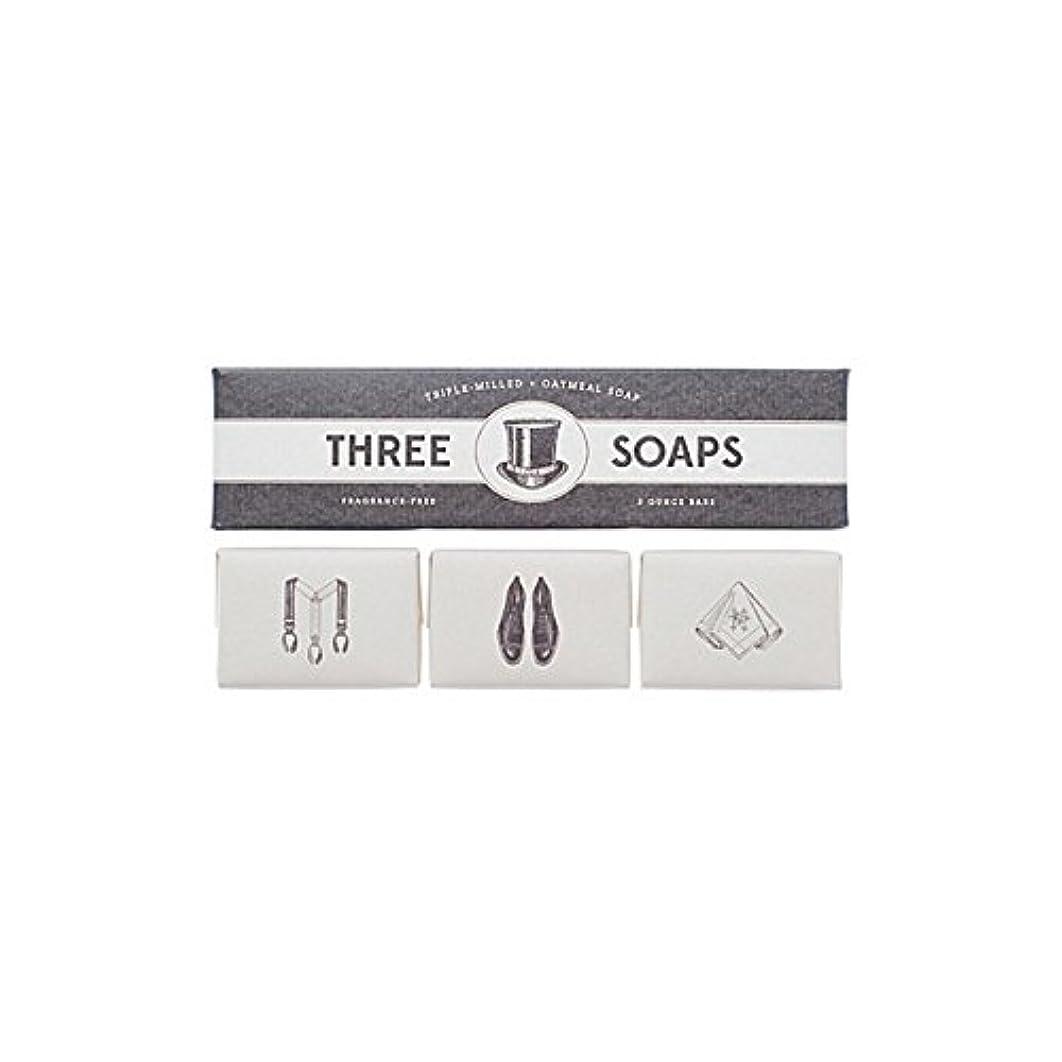 野ウサギ雲世界的に石鹸のイゾラトリオ x2 - Izola Trio Of Soaps (Pack of 2) [並行輸入品]
