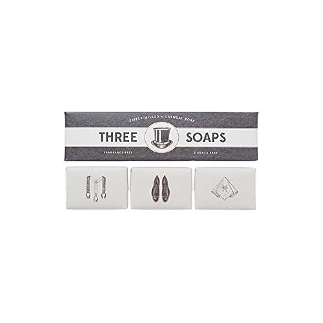 復讐ロックセンチメートル石鹸のイゾラトリオ x4 - Izola Trio Of Soaps (Pack of 4) [並行輸入品]
