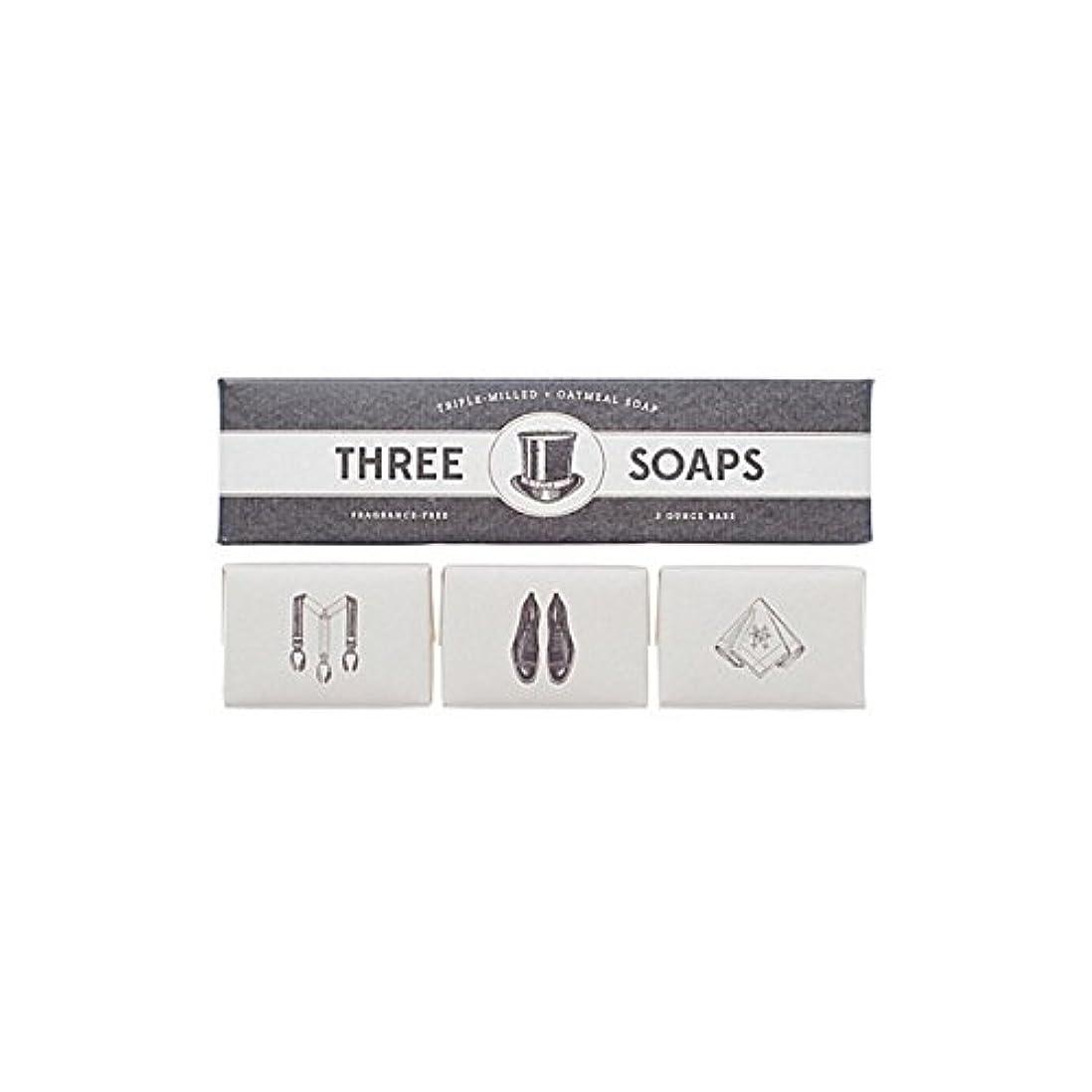 共和党インサートチャンピオン石鹸のイゾラトリオ x2 - Izola Trio Of Soaps (Pack of 2) [並行輸入品]