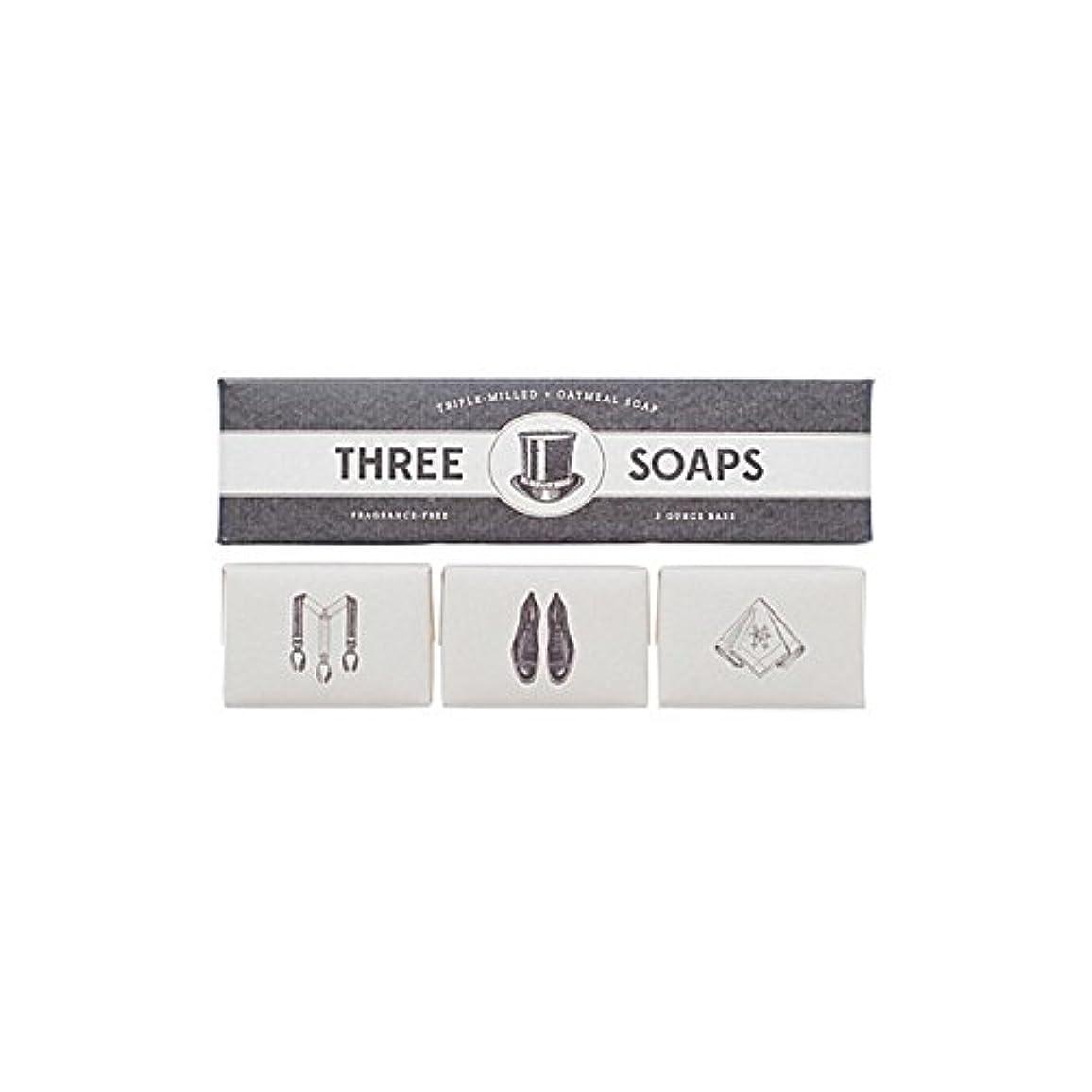 シャープつらい容疑者Izola Trio Of Soaps (Pack of 6) - 石鹸のイゾラトリオ x6 [並行輸入品]