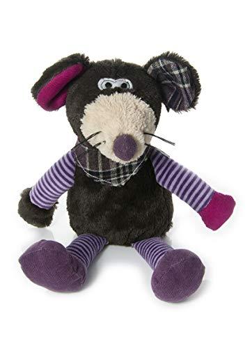 Mousehouse Gifts Adorable ratón de Peluche de 31 cm con pañoleta y Suaves Bigotes