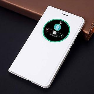 Flip Cases - Flip Cover Smart View Leather Phone Case For Zenfone 3 ZE520KL ZE552KL ZE 520KL 552KL 520 552 KL (White zenfo...