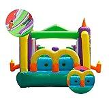 Inflables Castillos hinchables Interior Pequeño hogar Trampolín Juego Valla Ocean Ball Pool Zona de Juegos para niños