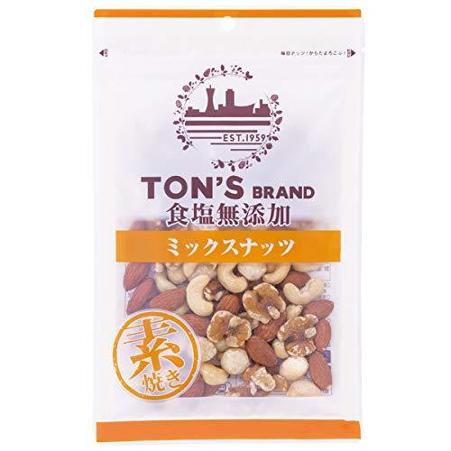 東洋ナッツ食品 トン 食塩無添加 ミックスナッツ 大 175g×10袋入