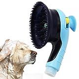 BPS Cabezal de Ducha Grifo para Mascotas Perro Gato Herramienta Masaje Portátil Accesorios de Ducha y Baño Uso Interiores y Exteriores Color al Azar BPS-5484