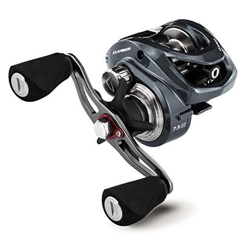 ベイトリール 2020軽量モデル 遠投 ドラグ音 全魚種対応 海 渓流 釣り リール ソルト対応 左ハンドル/右ハンドル