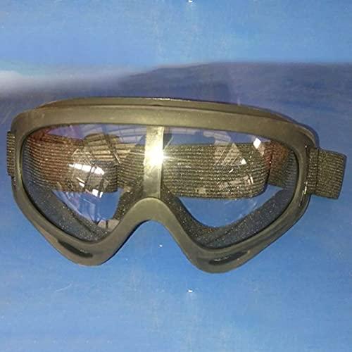Zhou-YuXiang Protección clásica Gafas Airsoft Tactical Paintball Gafas Transparentes Polvo de Viento Gafas de Sol de Moda Accesorios
