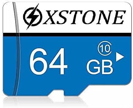Tarjeta de memoria de 64 GB Micro SD/TF Class 10 con adaptador y lector de tarjetas de memoria para teléfono, MP3, GPS, tableta, PC y cámaras de fotos