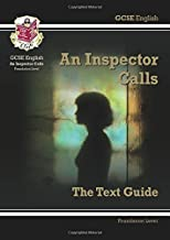 GCSE English Text Guide - An Inspector Calls Foundation by CGP Books (11-Feb-2015) Paperback