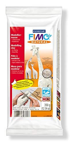 Staedtler 8150-02 - Fimo air natural  Modelliermasse, lufthärtend, 350 g, edelweiß