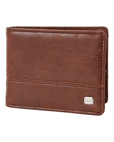 BILLABONG Dimensión para Men, Travel Accessory-Bi-Fold Wallet, (Java Grain), One Size