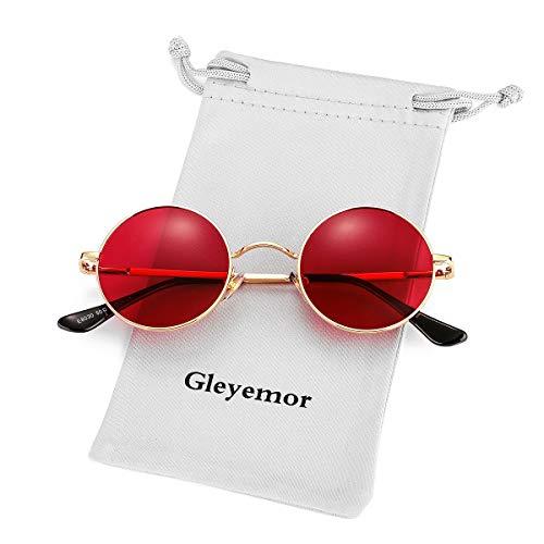 John Lennon Glasses - GLEYEMOR Smal…