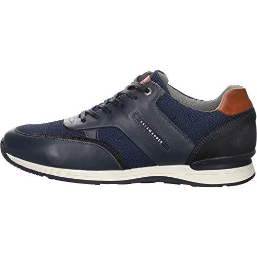 SALAMANDER Herren klassischer Stiefel Avato Schnürschuh blau Gr. 42