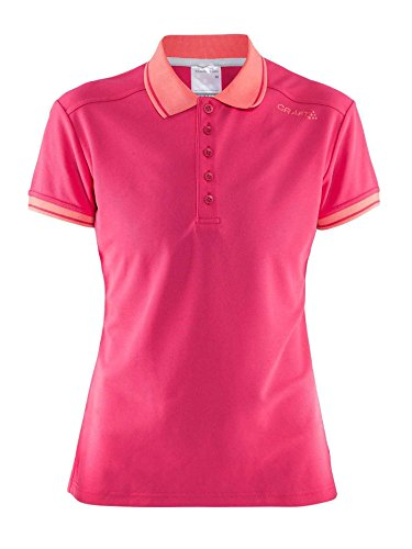 Craft Noble Polo Pique W Femme Small Russian Rose