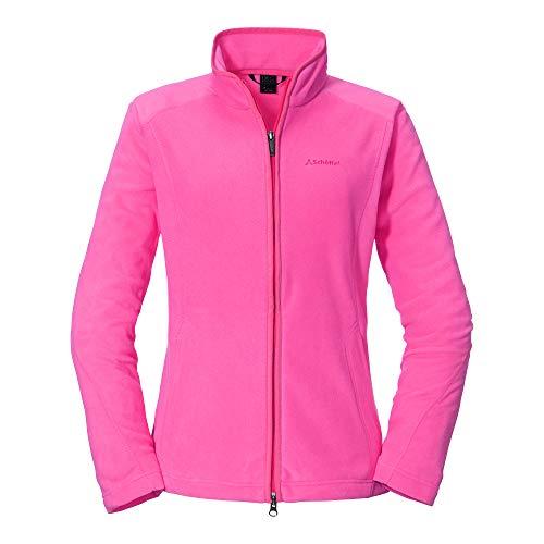 Schöffel Damen Fleece Jacket Leona2, leichte und warme Fleecejacke mit praktischen Taschen, atmungsaktive Outdoor Jacke für Frauen Damen