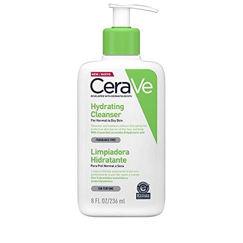 CeraVe - Feuchtigkeitsspendende Reinigungslotion für normale bis trockene Haut (236 ml)