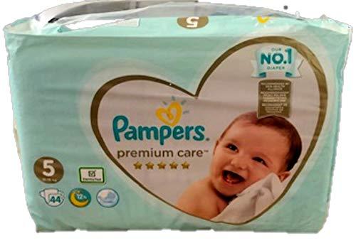 Pampers Premium Care Windeln, Gr. 5 , 11 – 18 kg , 1er Pack (1 x 44 Stück)