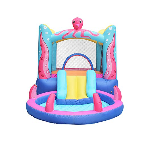 KangHan Large Inflatable Castle Indoor And Outdoor Trampoline Slides Children'S Play Equipment Large Castle 380 * 200 * 180Cm,380 * 200 * 180cm