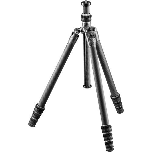 Gitzo Lightweight Traveler Series 1 Carbon Fiber Tripod, Silver & Black...