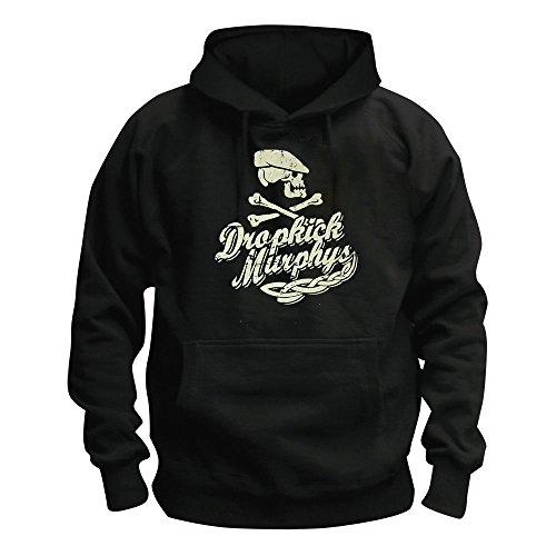Dropkick Murphys - Scally Skull Ship - Kapuzenpullover/Hoodie Größe XXL