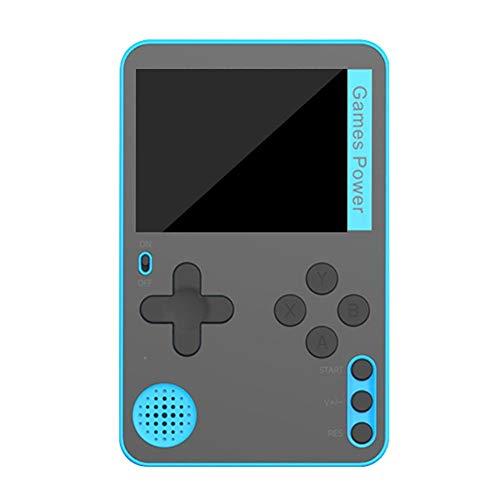 ZQYX Consola de Juegos portátil, minijuego Retro Ultrafino con 500 Juegos FC clásicos, Pantalla de 2,4 Pulgadas, con batería Recargable de 350 mAh, Regalo para niños y Adultos