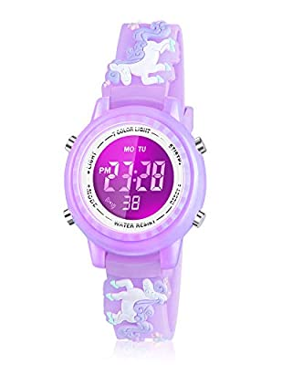 Viposoon Birthday Gifts for 3 4 5 6 7 8 9 Years Old Girls, Watch for 3-10 Year Old Girl Toys for 5-10 Year Old Girls Xmas Gifts for 4-12 Year Old Kids