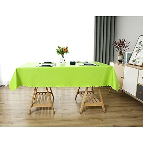 sans_marque Mantel de mesa, cubierta de mesa de comedor, fregar mantel rectangular, aceite y agua a prueba de moho y mantel, utilizado para decoración de mesa de cocina 137* 137 cm