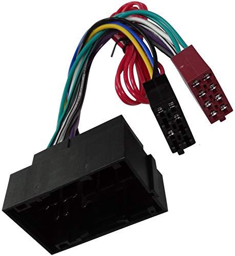 AERZETIX - Adattatore cavo - Connettore ISO - Per autoradio - C4329