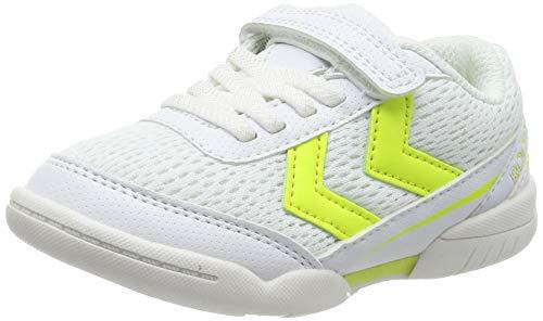 hummel Unisex-Kinder Root JR 3.0 VC Handballschuhe, Weiß (White 9001), 30 EU