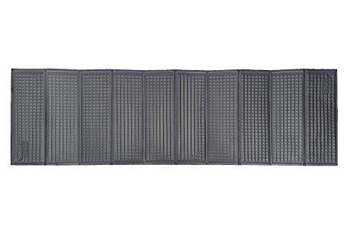 Relags Trekkingmatte 'Rillen und Noppen' Isomatte, grau, 185x55x1cm