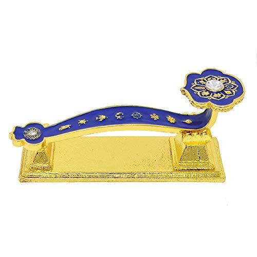 Feng Shui Ruyi - Chinese Traditional Crafts Blue Ru Yi...