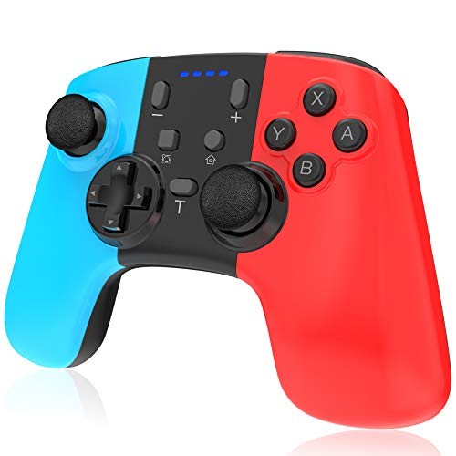 RegeMoudal Wireless Controller for Nintendo Switch,Wireless Switch Pro Controller Switch Remote Gamepad Joystick,Supports Gyro Axis, Turbo and Dual Vibration