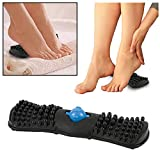 SOLIDBACK - Foot Pain Relief Massager - Plantar Fasciitis - Heel Spur - Arch Pain - Toe Ache - Feet Stress Therapy - Myofascial Release - Acupressure Treatment - Soothes Muscle Tension and Tightness