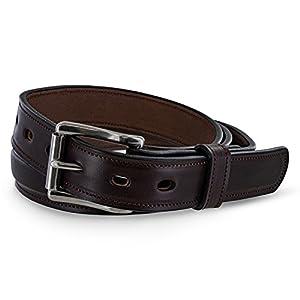 Hanks Esquire Belt – 1.25″ Premium Leather Belt – USA Made – 100 Year Warranty