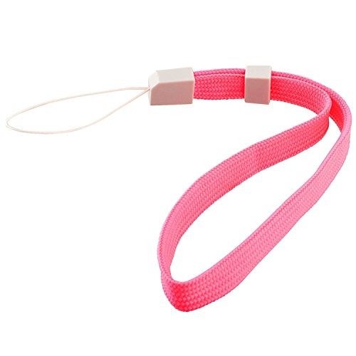 Insten Hand Wrist Strap Compatible with Nintendo Wii Remote Control Wii U Controller Wristband with Lock Replacement , Pink
