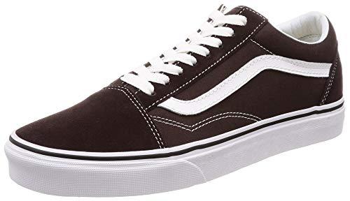 Vans, scarpe da skateboard classiche, unisex, da bambini, (Torta cioccolata True White), 42.5 EU