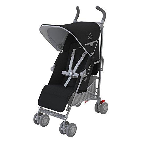 Maclaren Quest - Silla de paseo, color negro