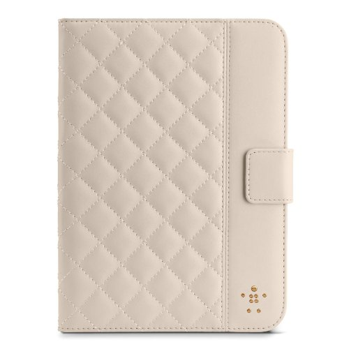 Belkin F7N007tt Flip Case for Apple iPad Mini - Cream