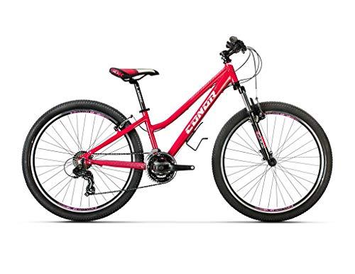 Conor Bicicleta 5200. Bicicleta de montaña con Dos Ruedas. Bici Adultos. Bike. Ruedas 26 Pulgadas. 7 velocidades. (Rosa WM)