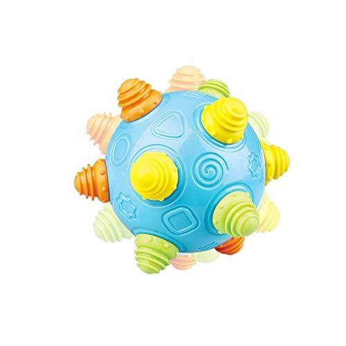 JPJ(TM)1pcs Kids Baby Hot Creative Music Shake Dancing Ball Toy Free Bouncing Sensory Developmental Ball