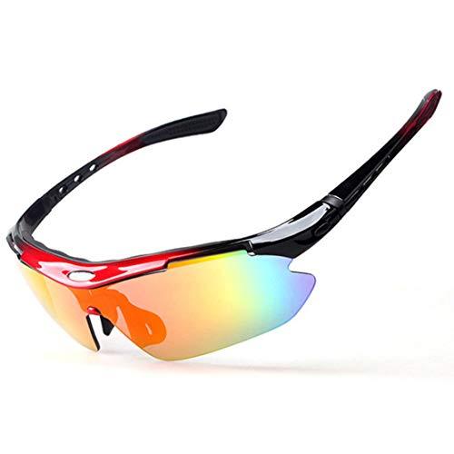 xiaohuozi Conjunto de Gafas de Sol Polarizadas Deportivas...