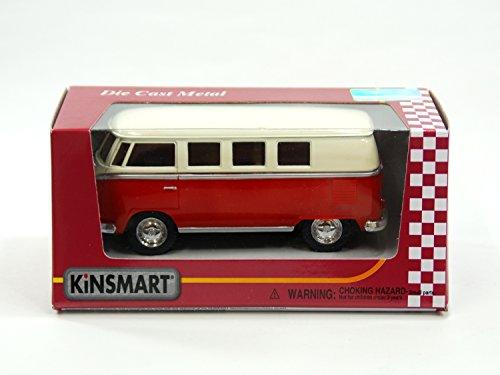 KiNSMART(キンスマート)『1:32フォルクスワーゲンバスレッドウィンドウボックス』