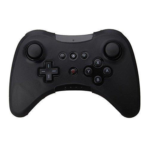 Funda de silicona suave para Nintendo Wii U Pro WiiU, color negro