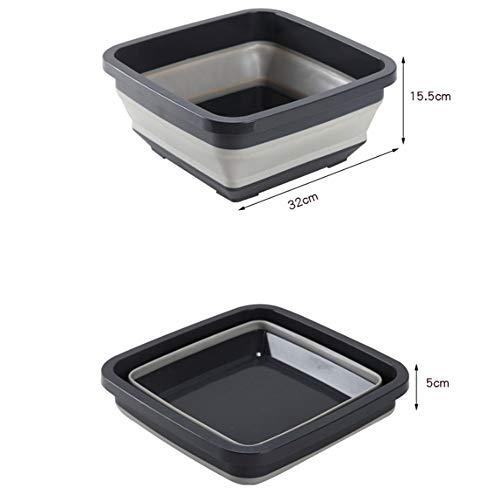 Opvouwbare reiniging wastafel reisvoeten wassen huishoudelijke apparaat gezicht keuken wastafel buiten wastafel opvouwbaar