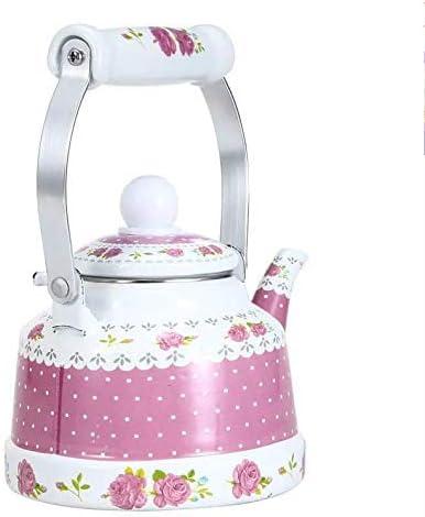 New popularity Cheap GUOCAO Teapot Enameled Kettle Kettles Handle Idylli Ceramic 1.7L