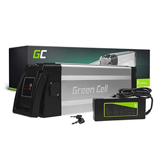 Green Cell GC Batteria per Bicicletta Elettrica 48V 18Ah Silverfish E-Bike Pedelec Li-Ion Batteria e Caricabatterie